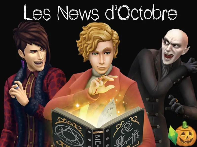 sims news infos du mois
