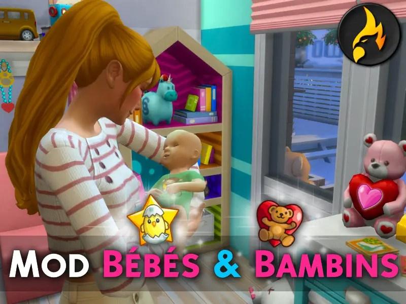 ▷ Mod Bébés et Bambins pour les Sims 4