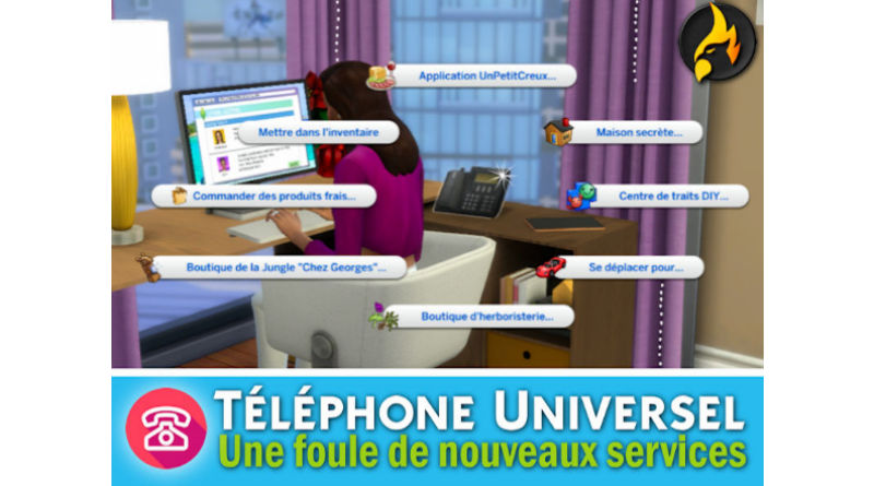 mod téléphone sims 4