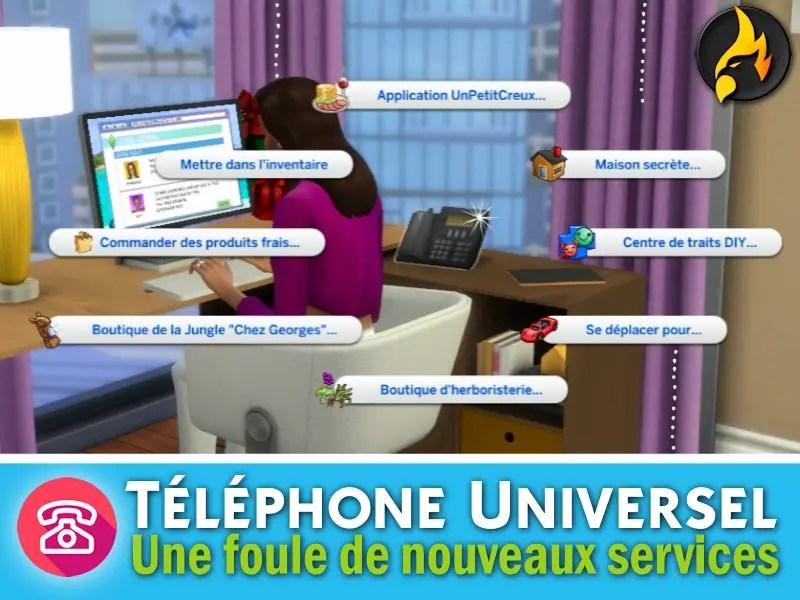 Un Téléphone Universel pour les Sims 4