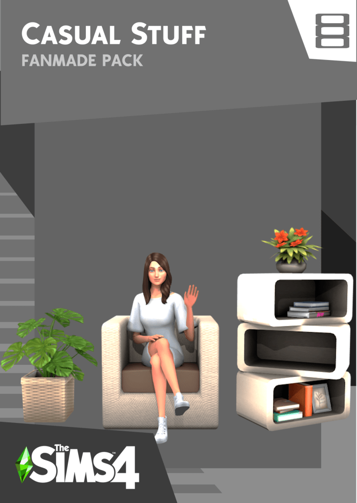 casual stuff pack sims 4