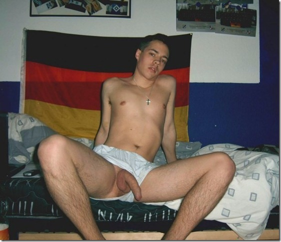Huge German Teen Cock