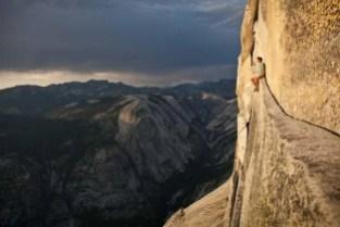 Sitting around at Yosemite