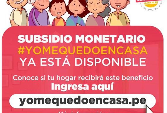 ENTÉRATE BONO 380: CONSULTA AQUÍ si accederás al subsidio por el estado de emergencia