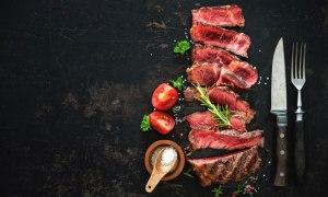 grain-fed beef