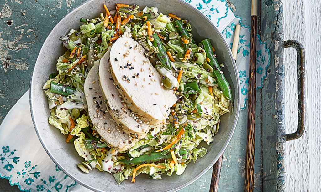 Hot Detox Asian Salad
