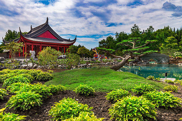 Botanical garden in Montreal