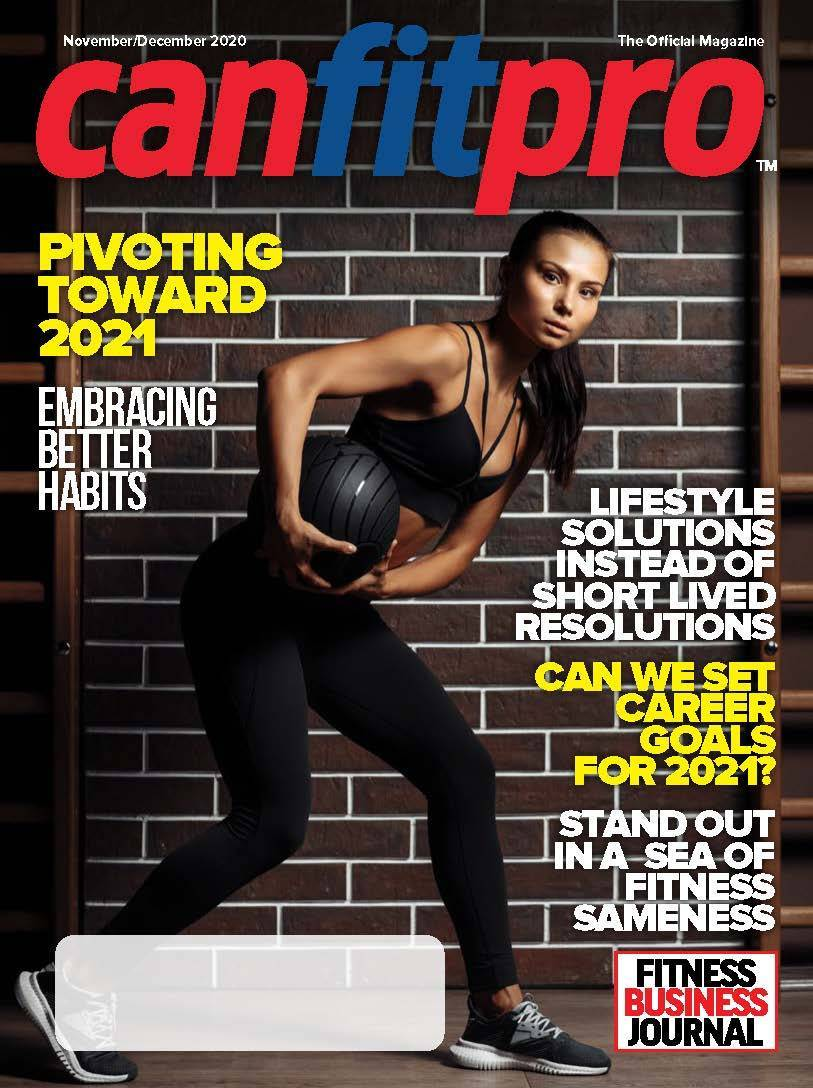 canfitpro Magazine | Nov/Dec 2020 cover