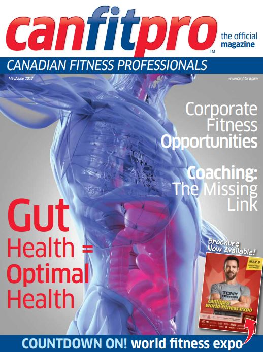 canfitpro Magazine | May/Jun 2017 cover