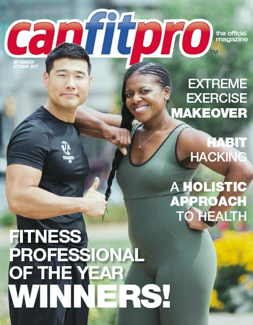 canfitpro Magazine | Sep/Oct 2017 cover