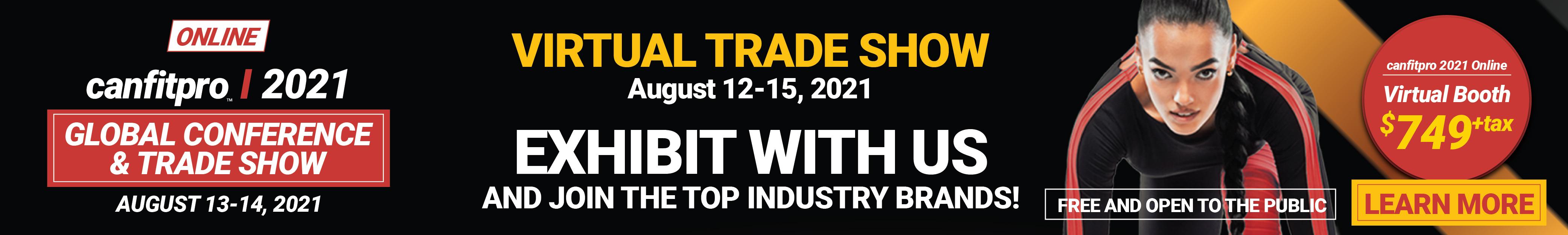 Trade show digital campaign