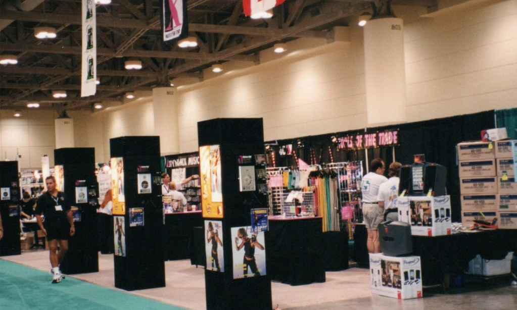 Our super trade show booth