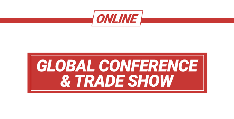 canfitpro Online 2021: Global Conference & Trade Show logo - White