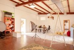 espacio para estudio de fotografia