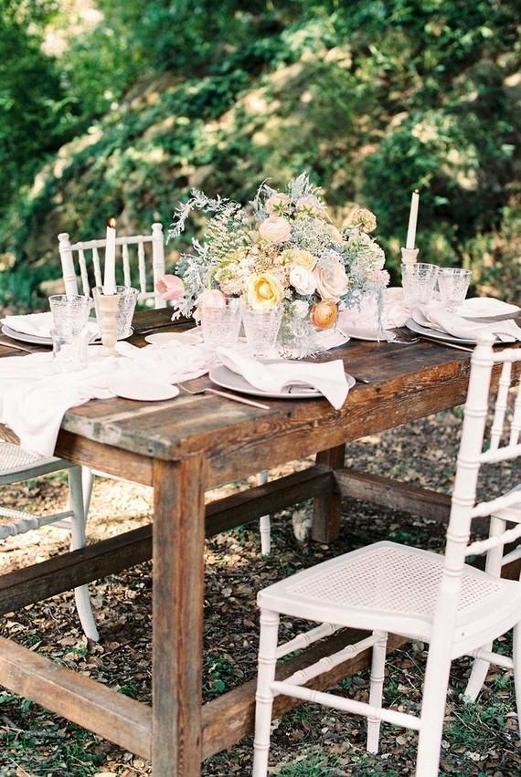 Spring tablescape. Cañigueral mesas con esencia