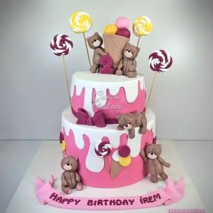 Forever Friends Cake Ice Cream Cake