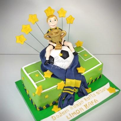 FB Pasta Fenerbahçe Cake Football Cake