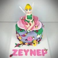 Tinkerbell cake Flower Cake