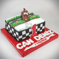 Cars Cake Mater Cake