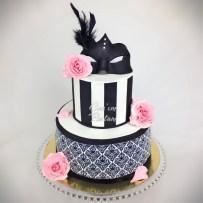 Mask Cake Damask Cake Flower Rose Cake