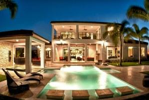 Palazzo Lago Custom Home - Resort Pool