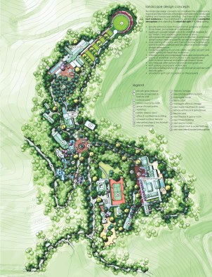 Stanford Residence Site Plan_110606_email