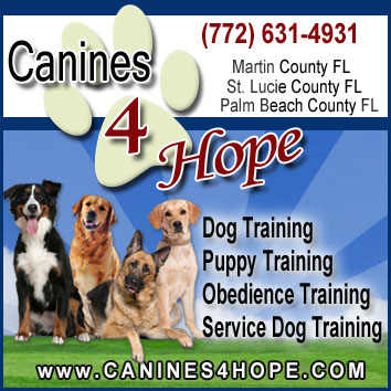 Canines 4 Hope Dog Training Florida, Florida Dog Trainers