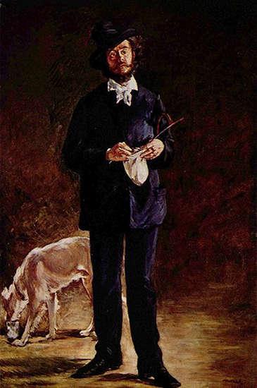 Portrait of Gilbert-Marcellin Desboutin