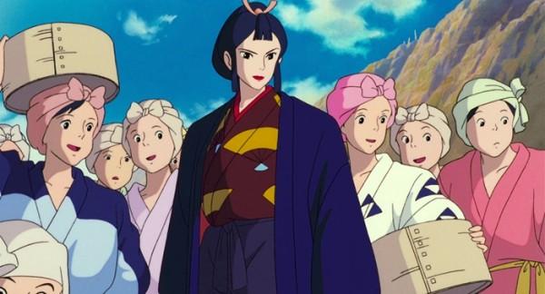 Heroínas Ghibli Lady Eboshi