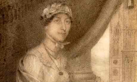 Posible retrato de la autora descubierto en 2011.