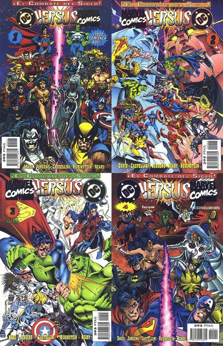 Marvel Vs DC - Canino