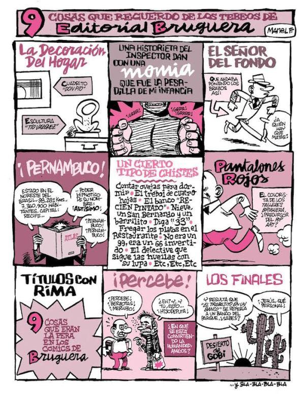 Lo que quedó de Bruguera, por Fontdevila
