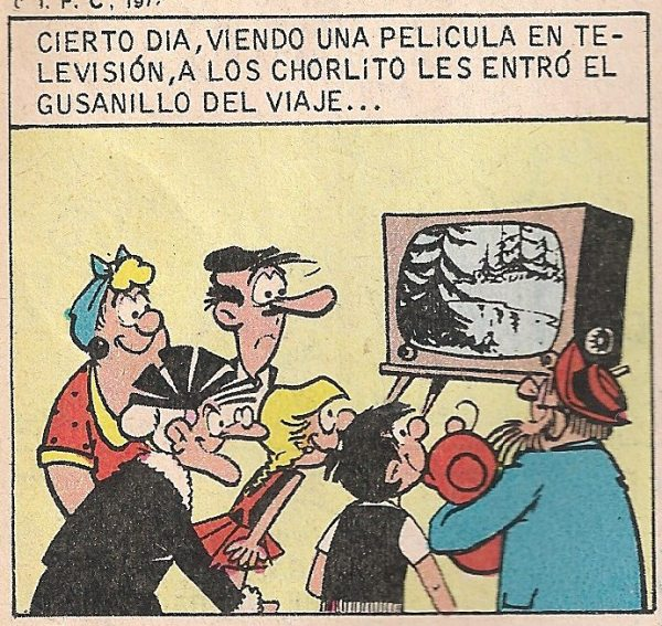 La familia Chorlito.