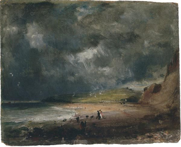 Weymouth Bay (1816) de Constable