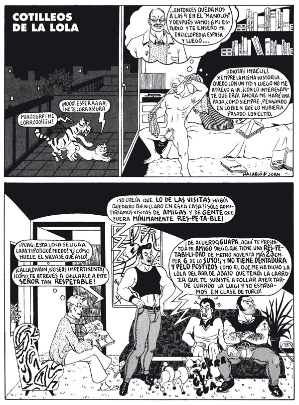 Página de 'Ali-Baba y los 40 maricones'
