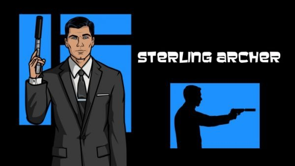 "ARCHER: ""Sterling Archer"" as voiced by Jon Benjamin"