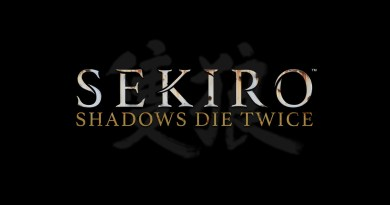 Sekiro title screen