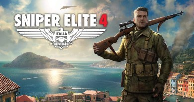 Sniper Elite 4 title screen