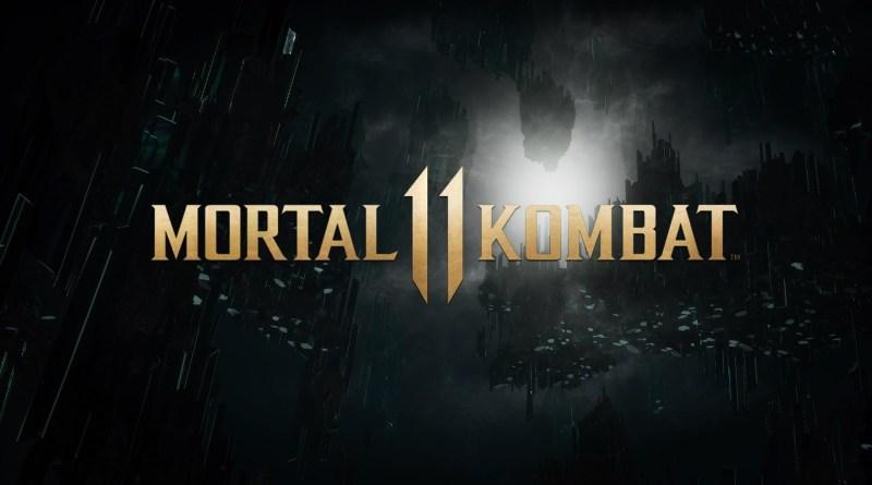 MK11 title screen