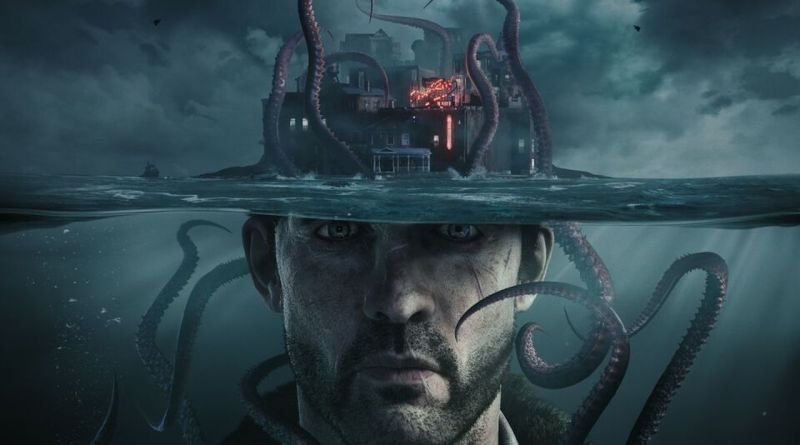 The Sinking City title screen