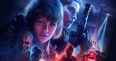 Wolfenstein Youngblood title screen