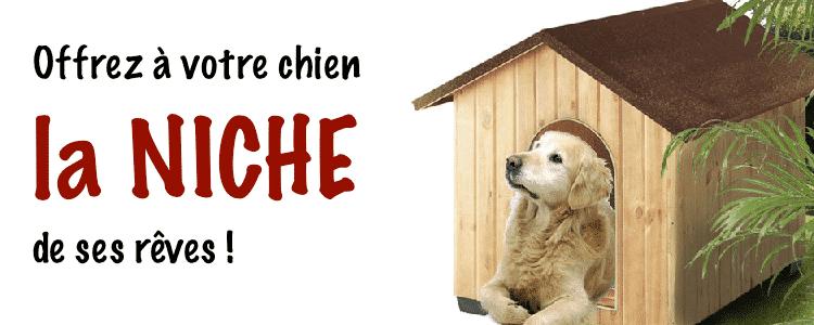 acheter la meilleur niche pour chien