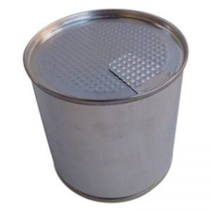 Peel-Off Tin Can Lids