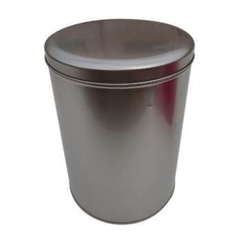 Large Round Metal Biscuit Tin Containers
