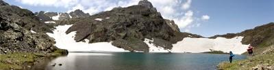Kaçkar Buzul Gölü Kısmî panoromik