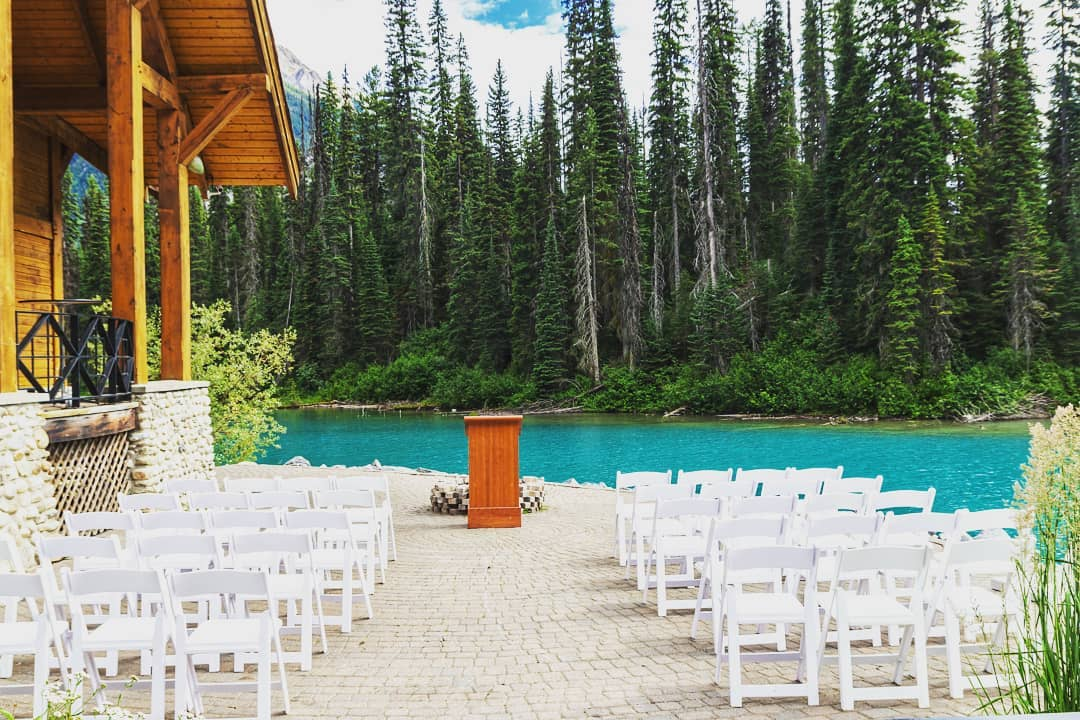 Ideal place for ceremony