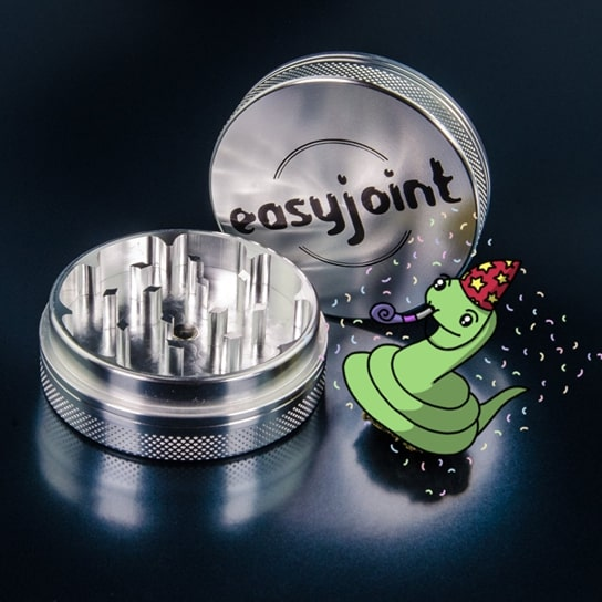 Easyjoint grinder in due parti