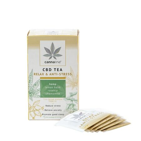 Tisana alla Cannabis CBD TEA RELAX & ANTI-STRESS in bustine