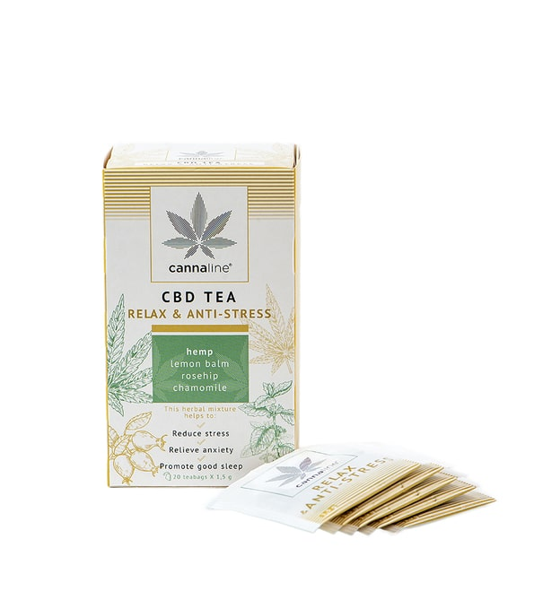 Tisana alla Cannabis Relax in bustine