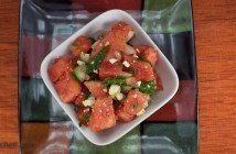 Marijuana Recipes Watermelon Cucumber Feta Salad